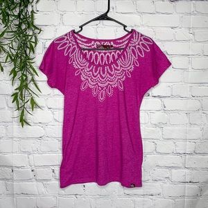 Prana breathe dolman mandala burnout tee medium